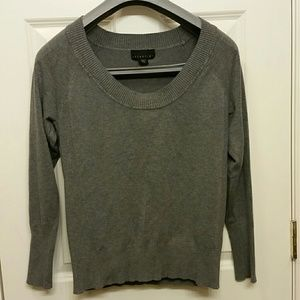 Size XL fitted charcoal sweater